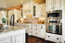 trendy kitchen decorating idea using antique white kitchen kitchen trendy kitchen decorating idea using antique white kitchen cabinets plus paired with metal oven