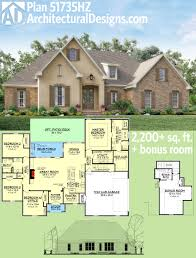 plan 51735hz flexible southern home plan with bonus room french