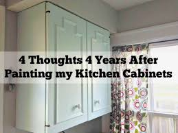 4 thoughts after painting my cabinets wife as we know it