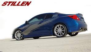 nissan altima coupe black stillen altima coupe rear corners released stillen garage