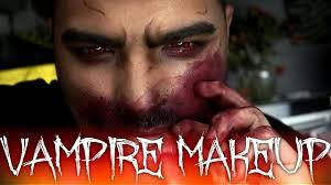 Halloween Male Makeup Vampire Halloween Makeup Tutorial 31 Days Of Halloween Youtube