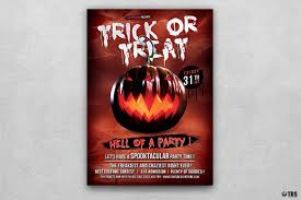 halloween flyer background free halloween flyer template psd to customize easily vol 6