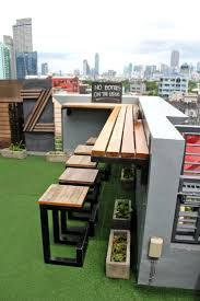 Outdoor Patio With Roof by Best 25 Rooftop Patio Ideas On Pinterest Rooftop Terrace