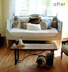 diy daybed using old doors home ideas pinterest daybed wood