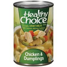 healthy choice chicken u0026 dumplings soup 15 oz can walmart com