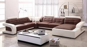 Chocolate Living Room Furniture by Living Room White Leather Sectional Sofa Cushions Light Brown