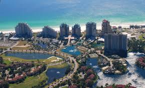 Destin Florida Map by Sandestin Real Estate Update Q1 2014