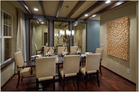 formal dining room set dark brown finishing long wooden dining