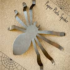quick paper plate 3d spider tutorial redo mom