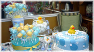 Boy Baby Shower Centerpieces by Baby Shower Ideas For Cake Table Baby Shower Cake Table