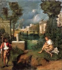 La tempesta - Giorgione - 1505/1508
