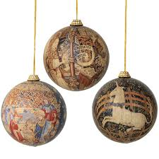 cloisters tapestries christmas ornaments christmas ornament