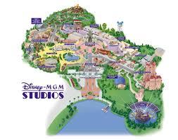 Orlando Universal Studios Map by Disney Mgm Studios Florida Theme Parks Com