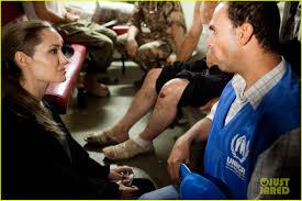 angelina jolie visits syrian refugees in jordan 01