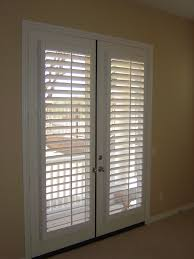 traditional blind for french interior door decofurnish