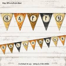 valerie pullam designs halloween party banner happy halloween