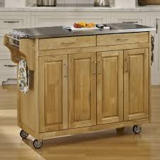 Kitchen Islands Carts by Kitchen Carts Kitchen Island Ideas Modern Wooden Trolley Cart Oak