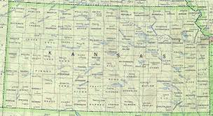United States Map Major Cities by Kansas Outline Maps And Map Links