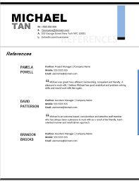 references resume template   Template   references for resume template happytom co