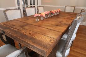 Mesmerizing  Barn Wood Kitchen Tables Inspiration Design Of - Barnwood kitchen table