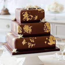 How To Decorate Chocolate Cake At Home Midnight Lotus Wedding Cake Woman And Home