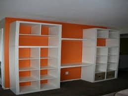 wall unit bookshelf designs