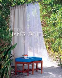 how to hang outdoor curtains improvements blog