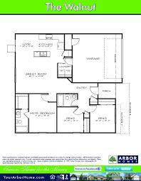 arbor homes magnolia floor garage floor plans simple arbor homes