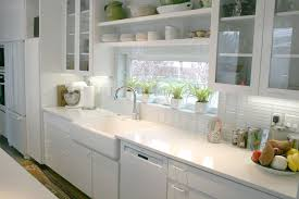 kitchen creative subway tile backsplash ideas for perfect