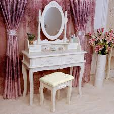 White Shabby Chic Dressing Table by Amazon Com Tribesigns Makeup Vanity Table Set Bedroom Dressing