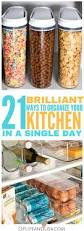 Cheap Kitchen Organization Ideas Best 25 Kitchen Organization Ideas On Pinterest Storage