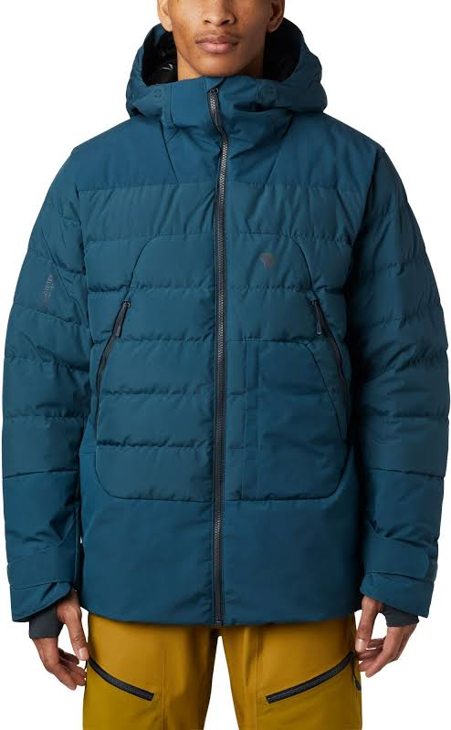 Mountain Hardwear Direct North Gore Windstopper Down Jacket Icelandic Extra Large 1851271324-XL