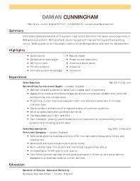 Sales Resume Examples   Sales Sample Resumes   LiveCareer LiveCareer Create My Resume