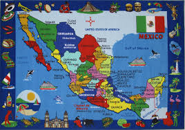 Map For United States by Mexico Map For Kids Kids Coloring Free Kids Coloring