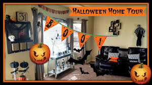halloween home decor tour 2016 decorating w dollar tree u0026 tds