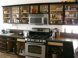 Kitchen Cabinets Inside Kitchen Cabinets Without Doors Hbe Kitchen Pertaining To Open