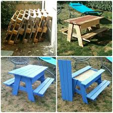 Building Plans For Picnic Table Bench by Diy Sandbox Picnic Table Two In One