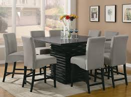 kitchen sophisticated narrow kitchen table with storage and four