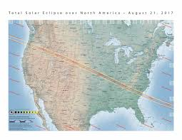 Zip Code Map Nc by Total Eclipse Of Sun August 21 2017 Astronomy Essentials