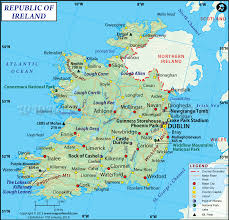 Show Map Of Europe by Map Of Ireland Ireland Map