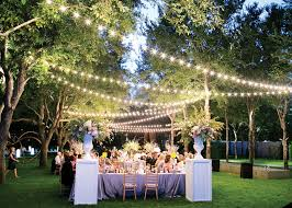 considering garden party decorating ideas for your great moment