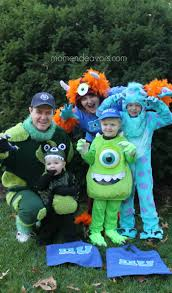 Monster Halloween List by Diy Monsters University Family Costumes