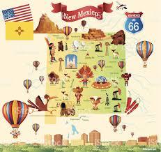 Map Of Juarez Mexico by Cartoon Map Of New Mexico Stock Vector Art 452113303 Istock