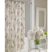 bathroom grey patterned ikat shower curtain for bathroom