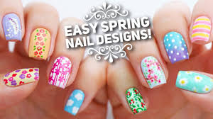 10 easy nail art designs for spring the ultimate guide youtube
