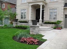 exterior design ideen vorgarten gestalten traditionell pfad steine