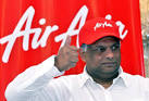 TONY FERNANDES optimistic about AirAsia India partnership, profits.