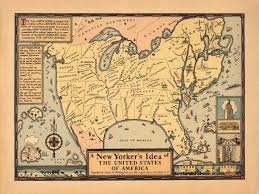 New York Map Us by New York U2013 The Map Room