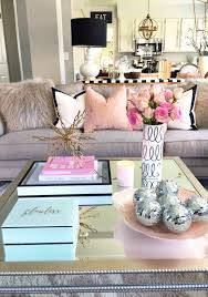 Feminine Living Room by The Secret To Coffee Table Decorating Decorating Coffee And