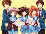 The Melancholy of Haruhi Suzumiya - Wallpapers | Ani-